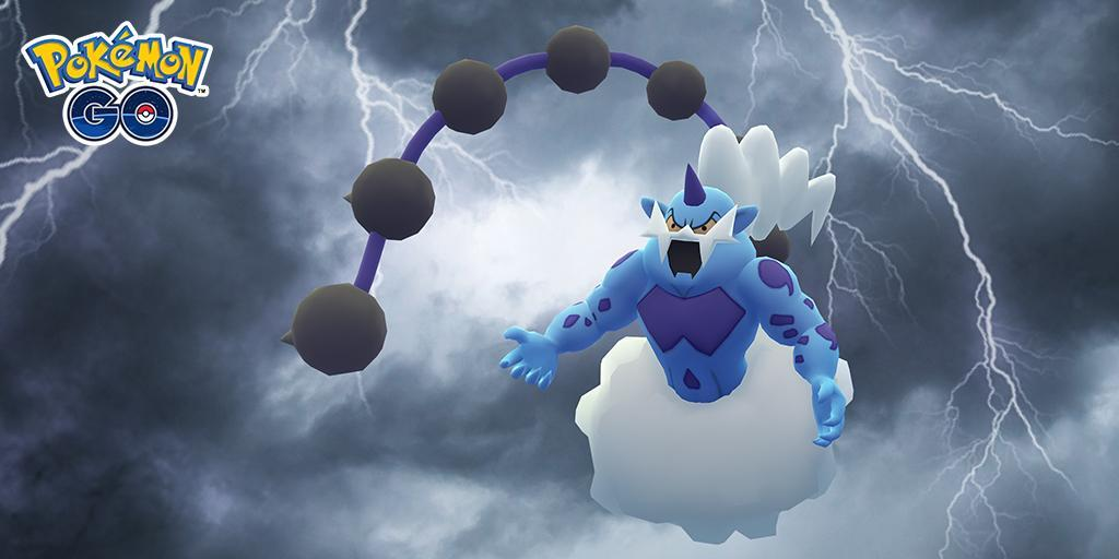 Thundurus Pokemon Go